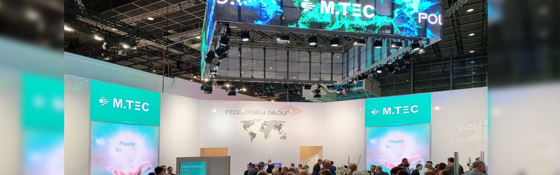 Successful fair participation for M.TEC at the K 2019